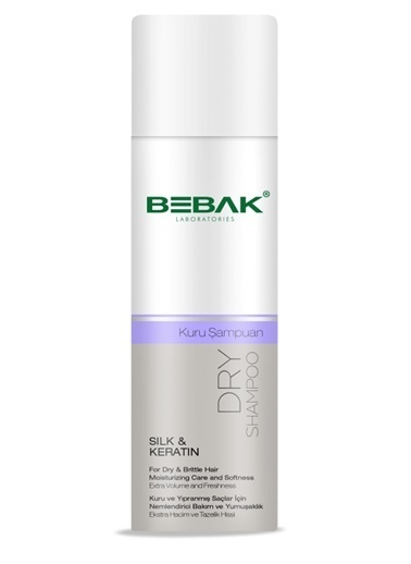 Bebak Bebak Dry Shampoo Silk and Keratin 200ml Renksiz